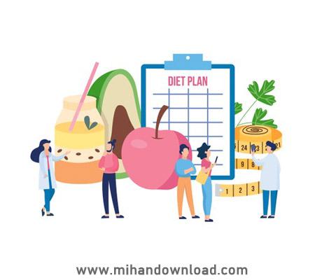 آموزش انتخاب درست غذا در برنامه غذایی لاغری
