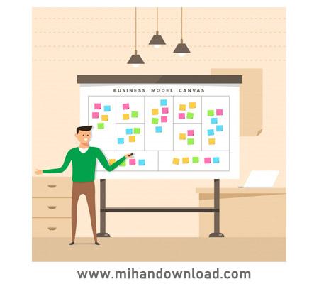 آموزش بوم مدل کسب و کار - مشتری و انواع مارکت