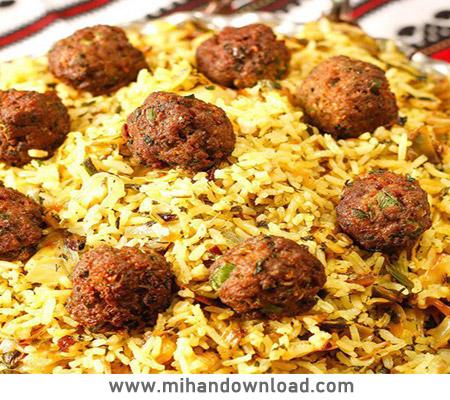آموزش پخت کلم پلوی شیرازی آسان