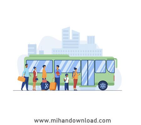 آموزش حمل و نقل عمومی به زبان فرانسه