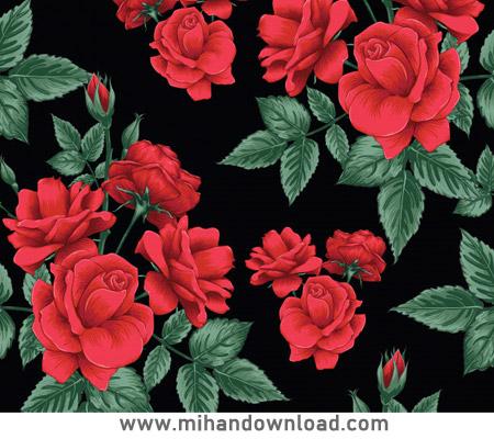 آموزش آسان نقاشی گل رز