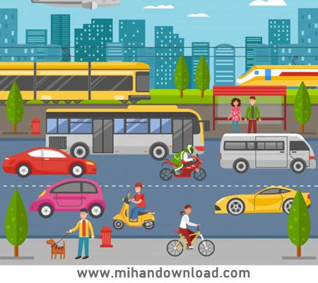 آموزش مکالمه برای گرفتن تاکسی، مترو، اتوبوس و قطار در زبان انگلیسی