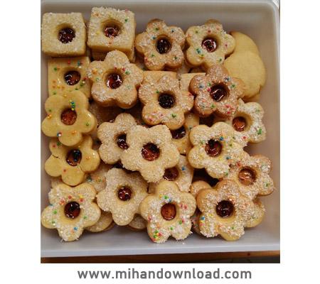 آموزش شیرینی مشهدی مربایی یا آلمانی - پروانه جوادی