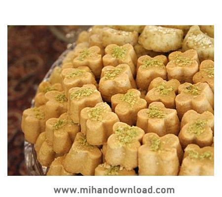 آموزش طرز تهیه شیرینی نخود چی سنتی - پروانه جوادی