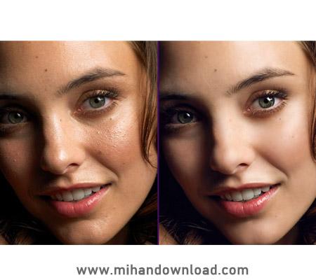 آموزش روتوش چهره با فیلترها در فتوشاپ
