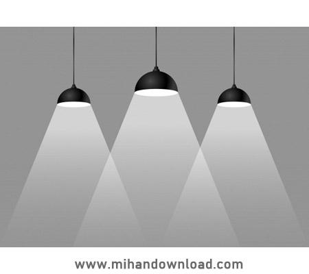 آموزش روشن کردن لامپ ها در فتوشاپ