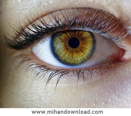 آموزش تغیر رنگ چشم در فتوشاپ