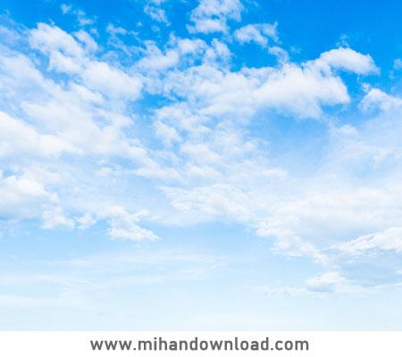 آموزش ساخت آسمان ابری حرفه ای در فتوشاپ