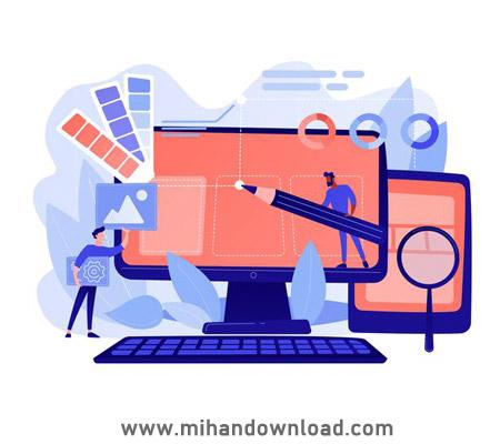 آموزش طراحی وب سایت تصادفی