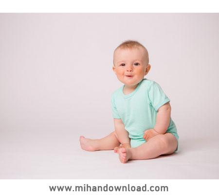 آموزش ادیت عکس نوزاد گرفته شده با موبایل