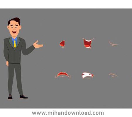 آموزش انیمیشن سازی صحبت کردن کارکتر در موهو