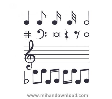 آموزش تئوری موسیقی با استاد بابک رشیدیان جلسه سوم