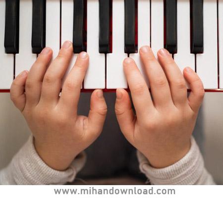 آموزش پیانو کودک با استاد یاشار رمضانیان جلسه دوم