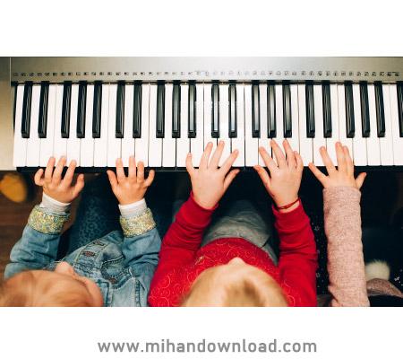 آموزش پیانو کودک با استاد یاشار رمضانیان جلسه سوم و چهارم