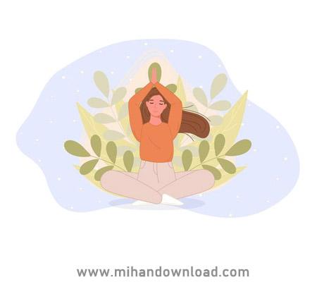 آموزش یوگا فارسی برای تقویت عضلات شکم