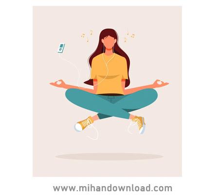 آموزش یوگا فارسی برای آرامش و رفع خستگی