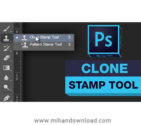 آموزش کار کردن با Clone Stamp در فتوشاپ