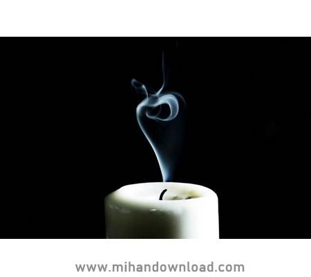 آموزش عکاسی از دود شمع با فلش اسپیدلایت