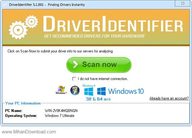دانلود نرم افزار DriverIdentifier 5.1.001