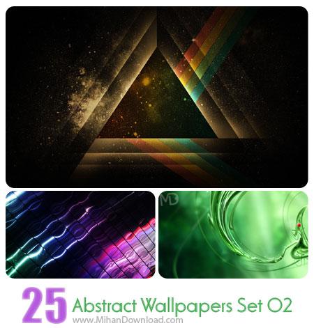 دانلود مجموعه عکس انتزاعي Abstract Wallpapers Set 02