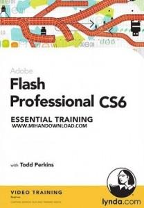 دانلود فیلم آموزش Lynda: Adobe Flash Professional CS6