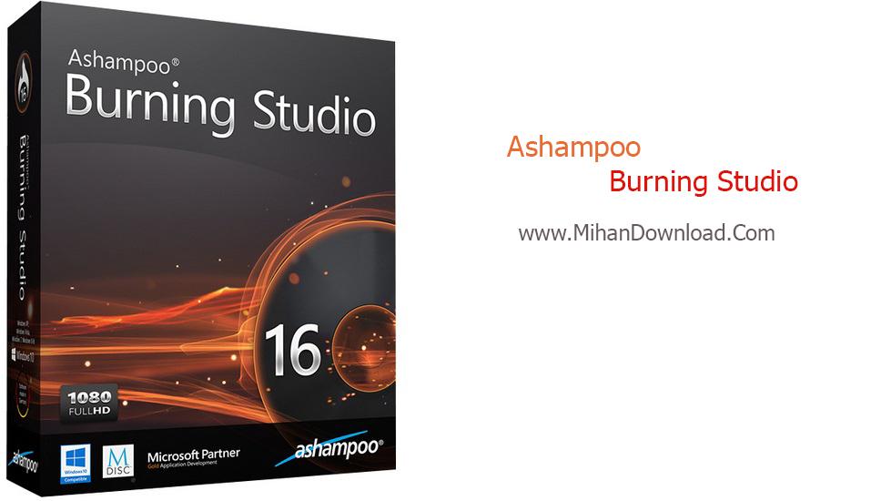 دانلود نرم افزار Ashampoo Burning Studio 16.0.7.16