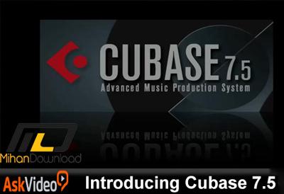 AskVideo.Introducing.Cubase.7.5.TUTORiAL.Cover_.www_.Download.ir_