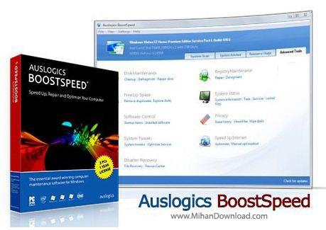 AusLogics.BoostSpeed. دانلود AusLogics BoostSpeed 6 4 2 0 نرم افزار افزایش سرعت سیستم