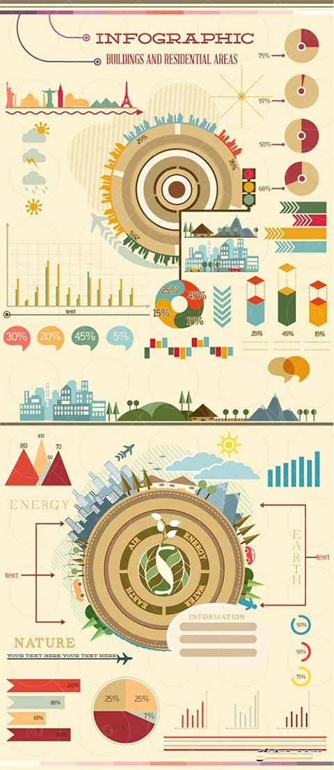 Buildings-and-Residential-Infographic