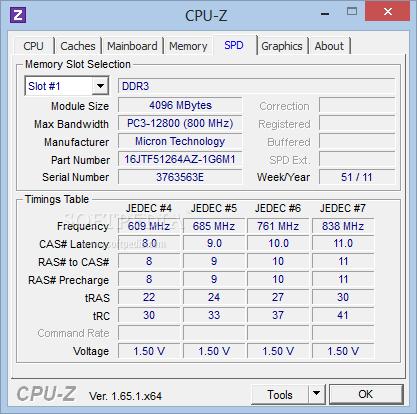 CPU Z 5 دانلود CPU Z 1 67 1 Final نرم افزار مشاهده مشخصات CPU