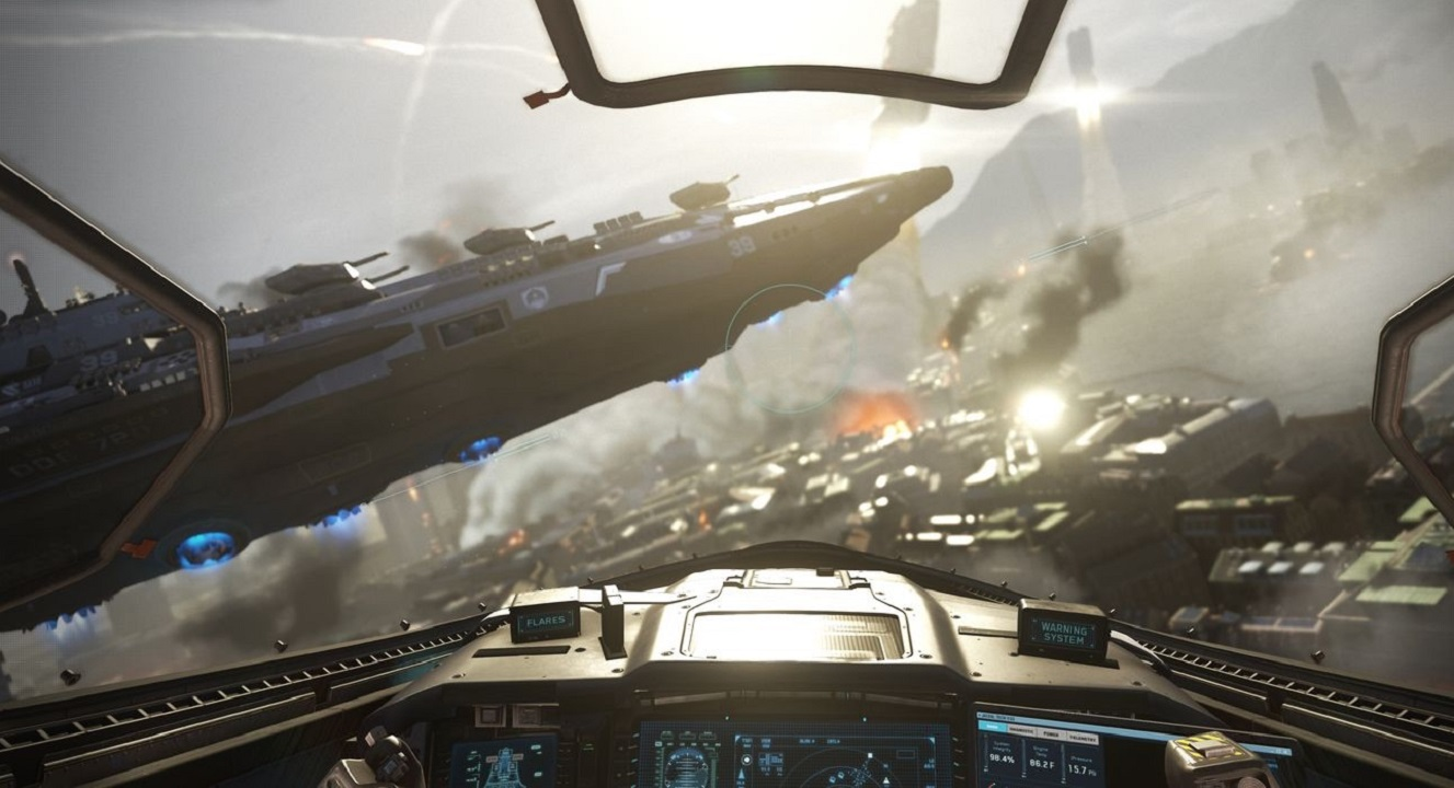 بازی تیفانی بی نهایت دانلود بازی کال اف دیوتی: جنگ بینهایت Call of Duty ...