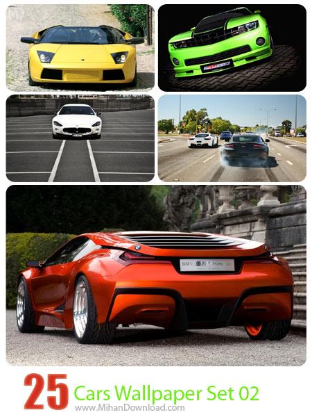 دانلود مجموعه عکس ماشين Cars Wallpaper Set 02