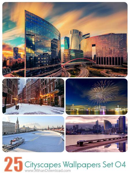 دانلود مجموعه عکس شهرها Cityscapes Wallpapers Set 04