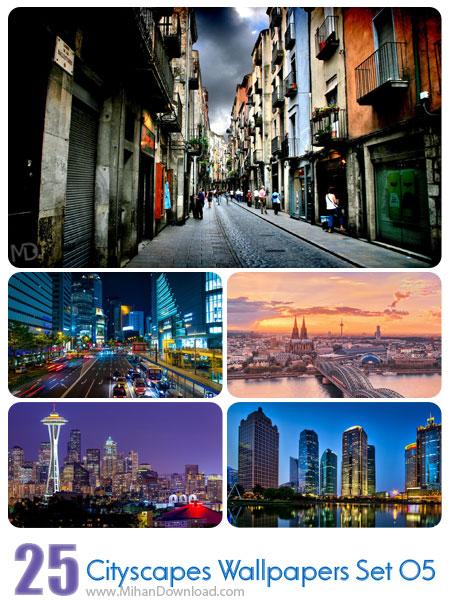 دانلود مجموعه عکس شهرها Cityscapes Wallpapers Set 05