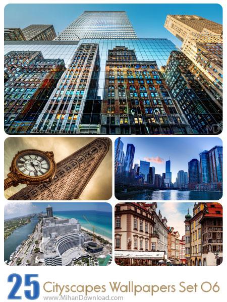 دانلود مجموعه عکس شهرها Cityscapes Wallpapers Set 06