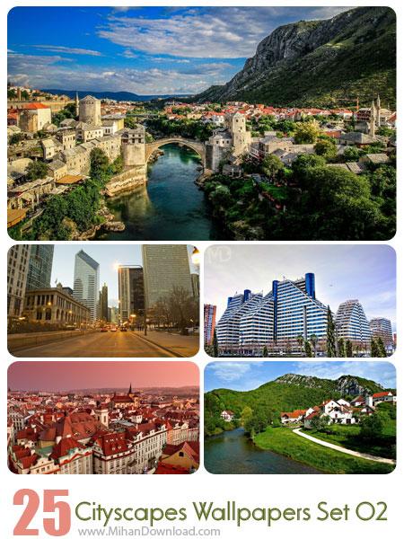 دانلود مجموعه عکس شهرها Cityscapes Wallpapers Set 02