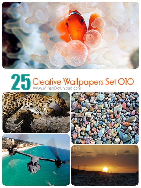 دانلود مجموعه عکس خلاقانه Creative Wallpapers Set 010