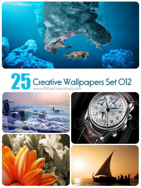 دانلود مجموعه عکس خلاقانه Creative Wallpapers Set 012