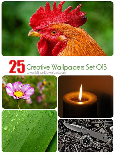 دانلود مجموعه عکس خلاقانه Creative Wallpapers Set 013