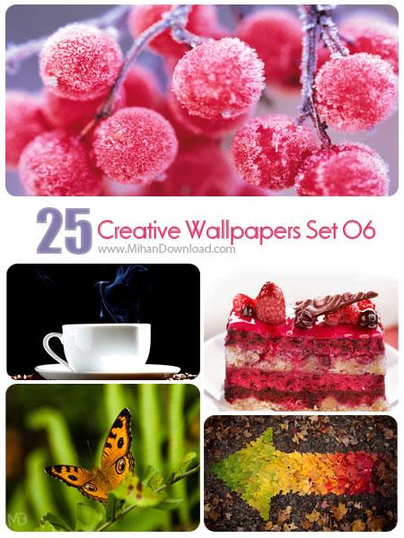 دانلود مجموعه عکس خلاقانه Creative Wallpapers Set 06
