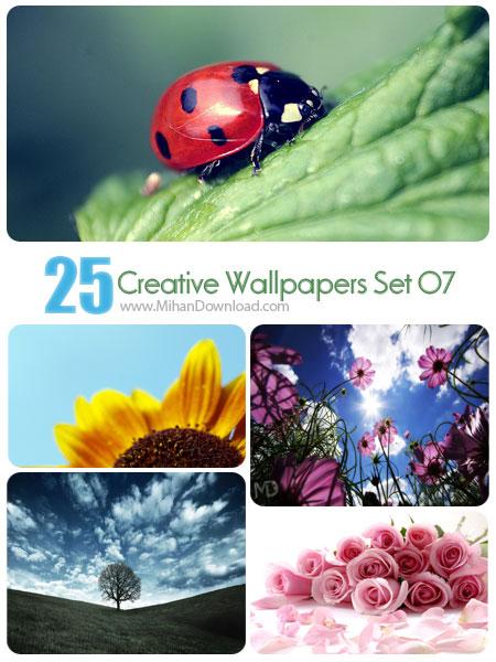 دانلود مجموعه عکس خلاقانه Creative Wallpapers Set 07