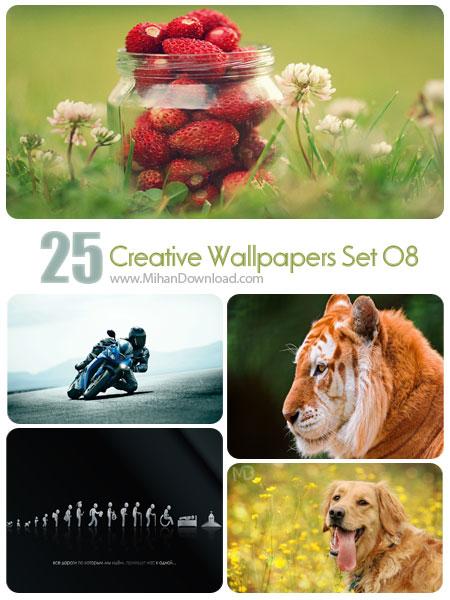 دانلود مجموعه عکس خلاقانه Creative Wallpapers Set 08