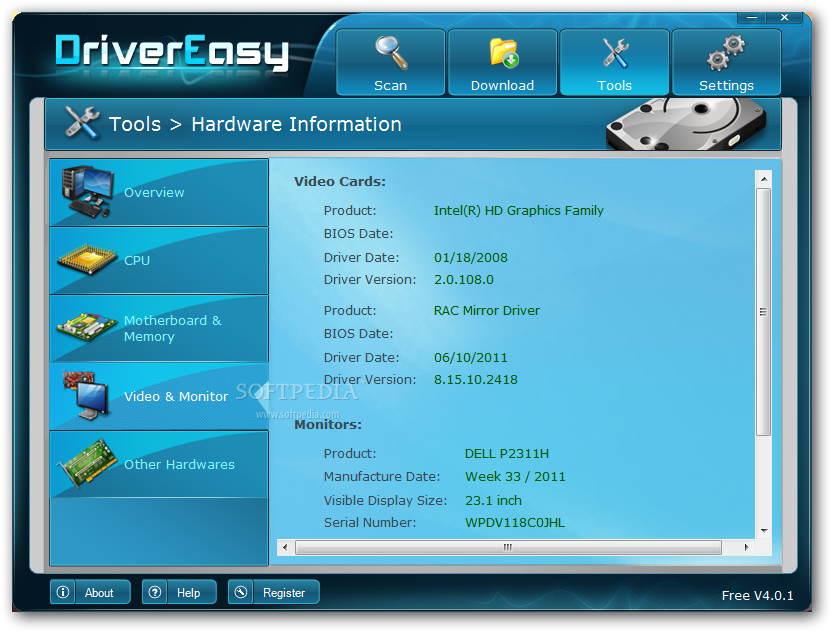 DriverEasy 8 دانلود DriverEasy Professional 4 6 2 32670 نرم افزار بروز رسانی اسان درایورها
