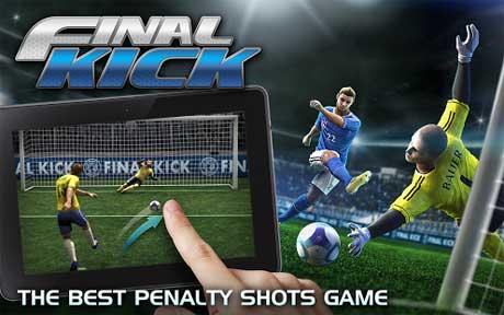 دانلود بازی ضربه نهایی Final kick v3.7.7 برای اندروید+نسخه مود و دیتا