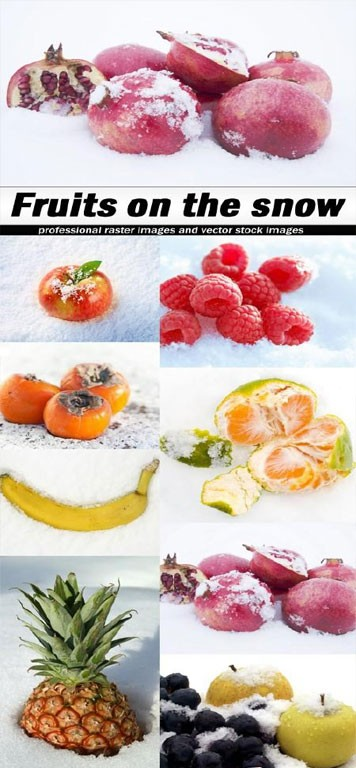 Fruits-on-the-snow