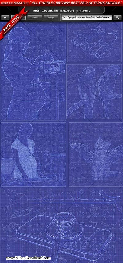 GraphicRiver-Blueprint-Pure-Art-Generator