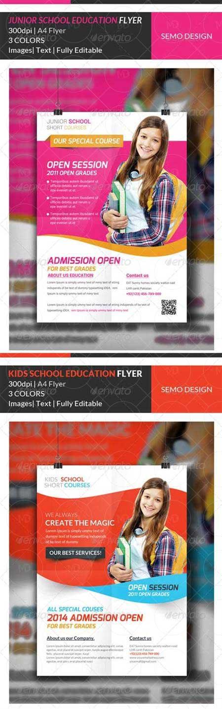 GraphicRiver-Junior-School-Education-Flyer-Template-Bundle