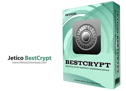 Jetico BestCrypt1 نرم افزار حفاظت از فایل ها Jetico BestCrypt 8 25 6