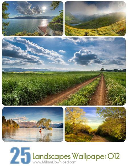 دانلود مجموعه عکس مناظر Landscapes Wallpapers Set 012