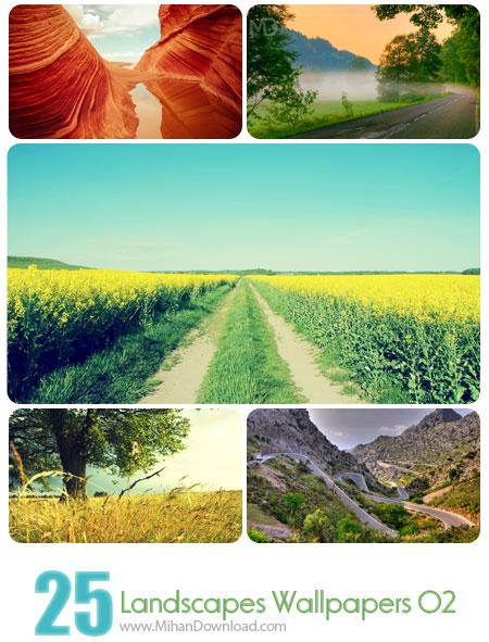 دانلود Landscapes Wallpapers Set 02 مجموعه دوم از تصاوير فوق العاده زيبا از مناظر